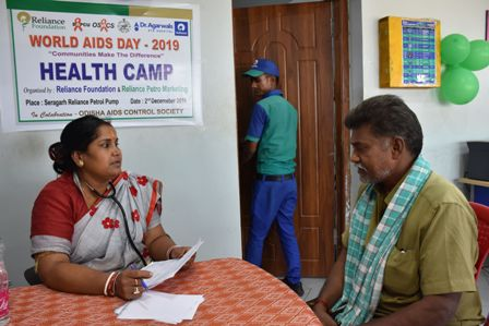 Reliance Foundation Organizes Free Health Check-Up Camp for Truck Drivers- 031219