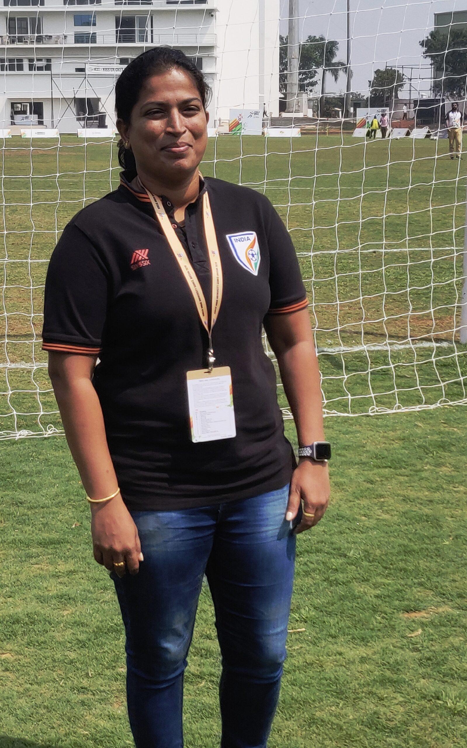 Indian women's football coach scouts for talent in Khelo India University Games- 28022020